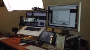 estudio podcast