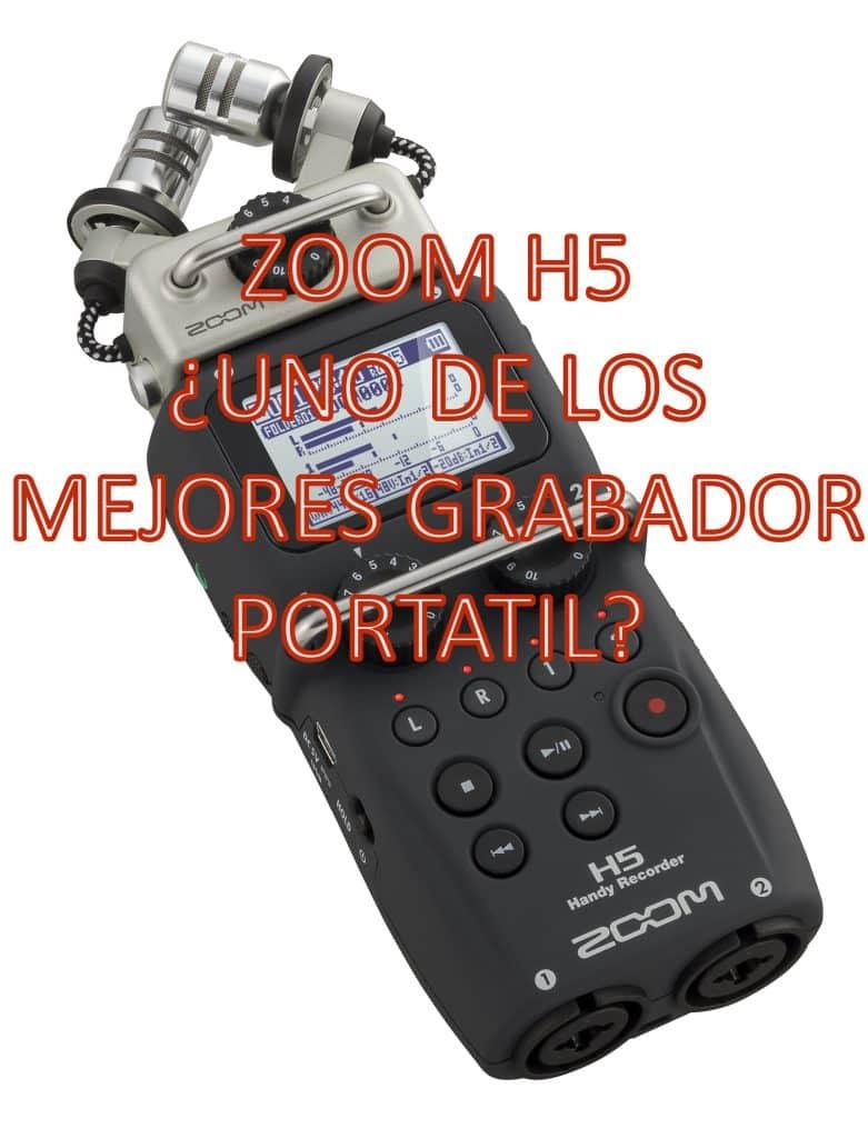 Zoom H5 – ¿El mejor grabador portátil del mercado?