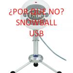 Microfono SnowBall USB
